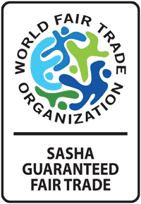 Sasha - Guaranteed Fair Trade by WFTO