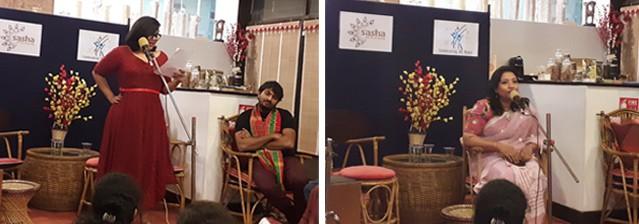 SASHA art mic-talk poetry August 2018