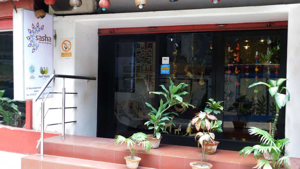 Sasha - Kolkata shop exterior