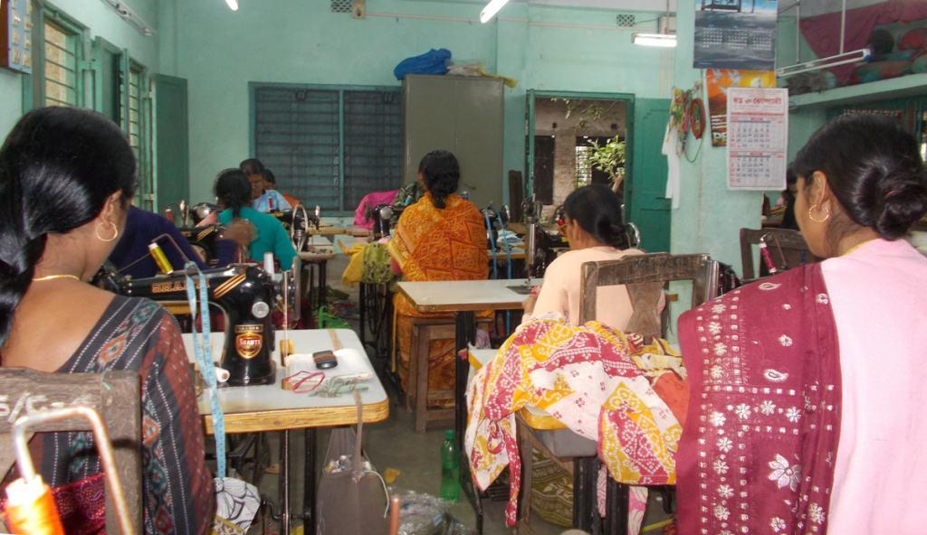 Kolaghat SEWS sewing room