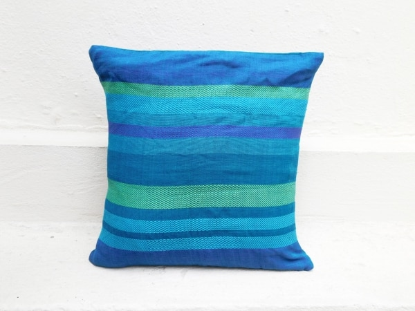 Striped cushion by Sasha
