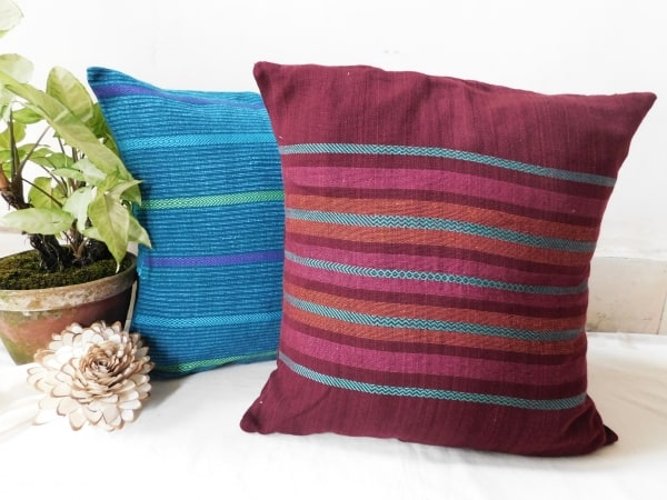 Striped cushions by Sasha